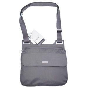 Baggallini Pocket Slim Crossbody Nylon Bag Purse
